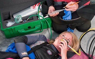 PADI-Spezialkurs Emergency Oxygen Provider